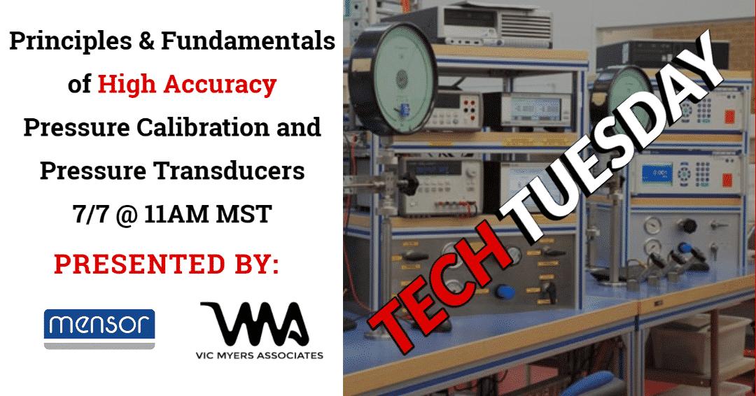 Tech Tuesday - Mensor High Accuracy Pressure