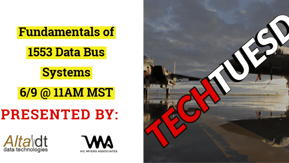 Tech Tuesday - Alta DT 1553 Data Bus Systems