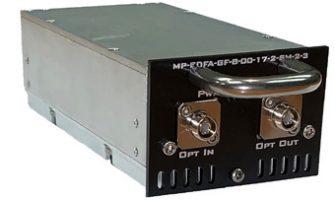 MP-EDFA-GF Gain Flattened erbium Doped Optical Amplifier